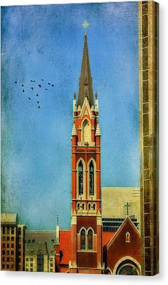 Canvas Print featuring the photograph Cathedral by Joan Bertucci