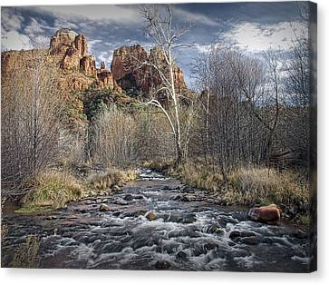 Cathedral Rock In Sedona Canvas Print