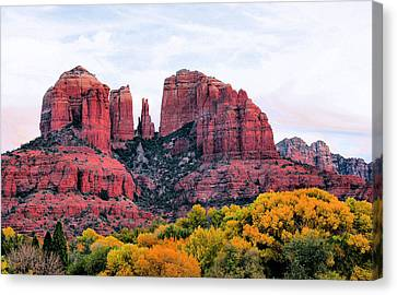 Cathedral Rock Canvas Print by Kristin Elmquist
