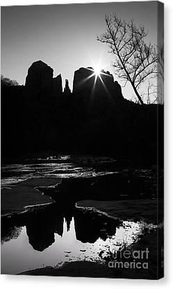 Cathedral Rock Sunrise Sedona Arizona Canvas Print