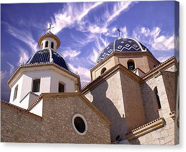 Cathedral Canvas Print by Rod Jones