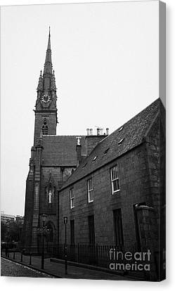 Catholic Cathedral Of St Mary Of The Assumption Aberdeen Scotland Uk Canvas Print by Joe Fox