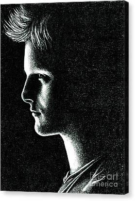 Cato Canvas Print by Crystal Rosene