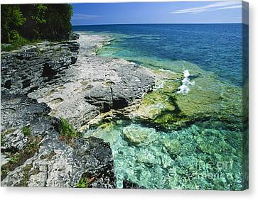 Cave Point Vista Canvas Print
