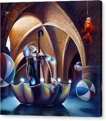Caverna Magica Canvas Print by Patrick Anthony Pierson