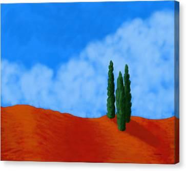 Cedar Hill Canvas Print by Tim Stringer