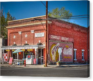 Cedarville California Grocery Store Canvas Print by Scott McGuire