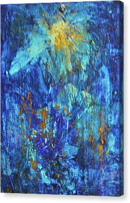 Canvas Print featuring the painting Celebration 2 by Mary Sullivan