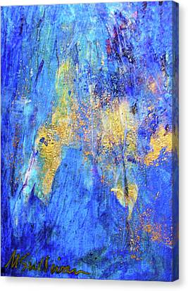 Canvas Print featuring the painting Celebration by Mary Sullivan