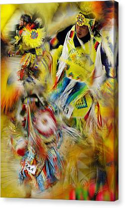 Canvas Print featuring the photograph Celebration Of Nations by Vicki Pelham