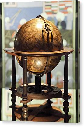 Celestial Globe, 17th Century Canvas Print by Detlev Van Ravenswaay