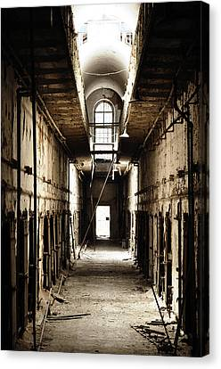 Cell Block Number 9 Canvas Print by Bill Cannon