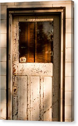 Abandoned Farm House Canvas Print - Cellar Door by Cale Best