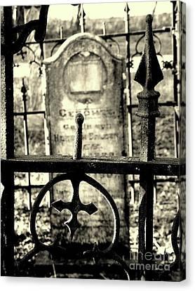 Cemetery Canvas Print by Joe Jake Pratt