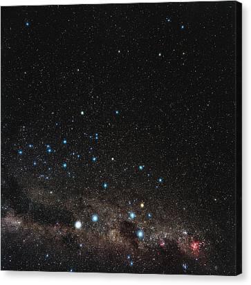 Centaurus Constellation Canvas Print by Eckhard Slawik