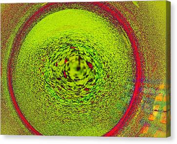 Centering Self Canvas Print by James Mancini Heath