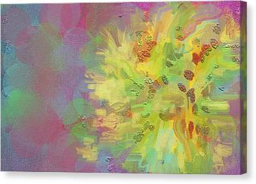 Central Sun Of The Galaxy Canvas Print