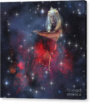 Stellar Canvas Print - Cerces, The Daughter Of The Sun by Corey Ford