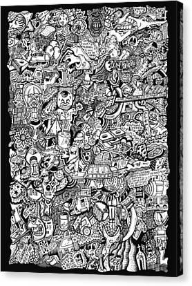 Cerebral Postulation Canvas Print