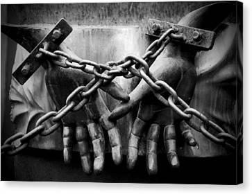 Chains Canvas Print by Fabrizio Troiani