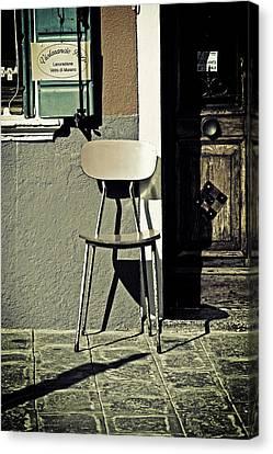 Chair Canvas Print by Joana Kruse
