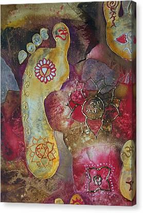 Journey Canvas Print - Chakra Awaken 2 by Vijay Sharon Govender