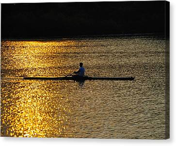 Challenge Yourself Canvas Print by Bill Cannon