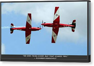 Challenge Yourself Canvas Print by Michael Wignall