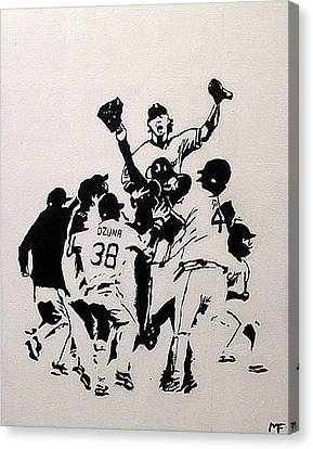 Champions Canvas Print by Matthew Formeller