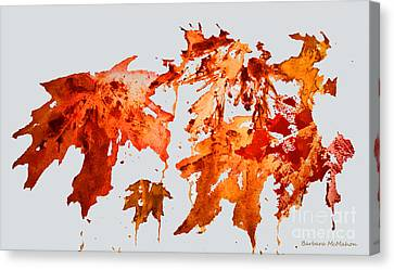 Changing Season Canvas Print by Barbara McMahon