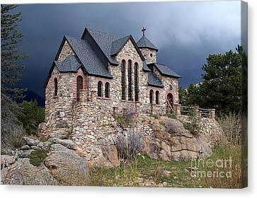 Chapel On The Rocks No. 1 Canvas Print