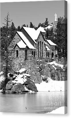 Chapel On The Rocks No. 2 Canvas Print