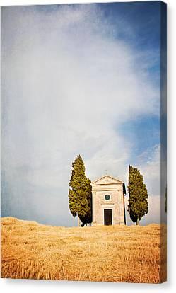 Chapel Vitaleta Canvas Print by Just a click
