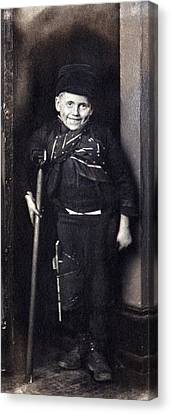 Charles Dickenss Character, Tiny Tim Canvas Print by Everett
