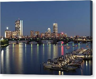 Charles River Yacht Club Canvas Print by Juergen Roth