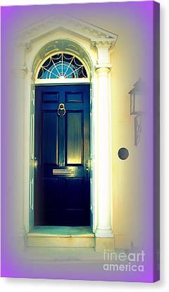 Charleston Door 6 Canvas Print by Susanne Van Hulst
