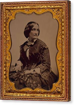 Charlotte Cushman 1816-1876, One Canvas Print by Everett