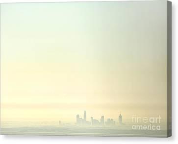 Charlotte Morning Mist Canvas Print by Patrick Schneider