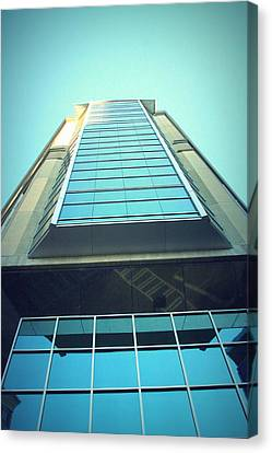 Charlotte Offices Canvas Print by Kenneth Mucke