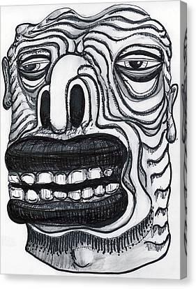 Chasing Basil Canvas Print by Robert Wolverton Jr