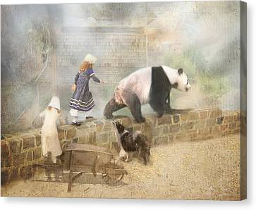 Chasing Childhood Dreams Canvas Print by Trudi Simmonds