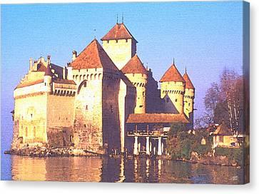 Chateau Chillon Canvas Print