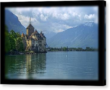Chateau De Chillon Canvas Print by Matthew Green