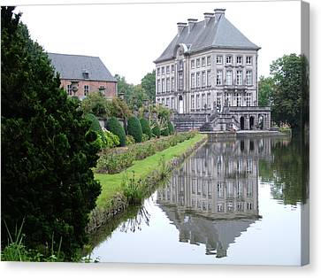 Canvas Print featuring the photograph Chateau Fort De Feluy  Belgium by Joseph Hendrix