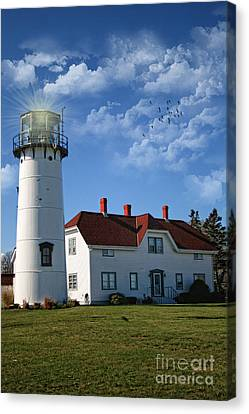 Chatham Canvas Print - Chatham Lighthouse II by Gina Cormier