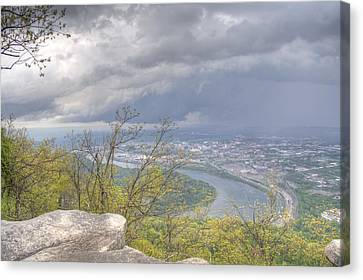 Chattanooga Valley Canvas Print by David Troxel