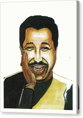 Cheb Khaled Canvas Print