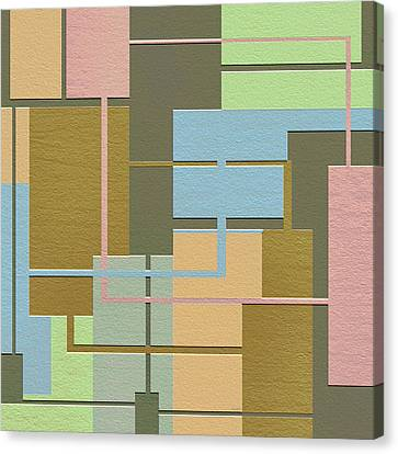 Check Canvas Print by Ely Arsha