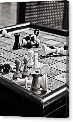 Check Mate Canvas Print by Randall  Cogle