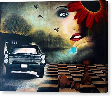 Checkmate Canvas Print by Andrea Banjac
